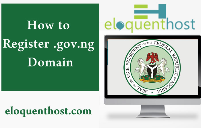 Requirement for registering a .gov.ng Domain